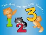 Three Little Kittens Illustration