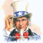 "Uncle Sam ""Man of the Century"" cover illustration for US News & Report Special December 1999 issue. Done on a 2 day deadline, and recently used in stock usage for Sage Software."